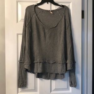 Gray Free People Thermal